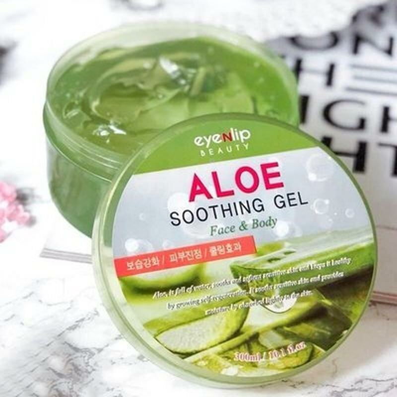 Гель для тела с экстрактом алое Eyenlip Aloe Soothing Gel, 300 мл. фото 1 — BascoMarket